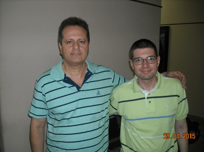 Arbitragem - Fernando Madeu (à esquerda) e Rafael Rafic Jerdy