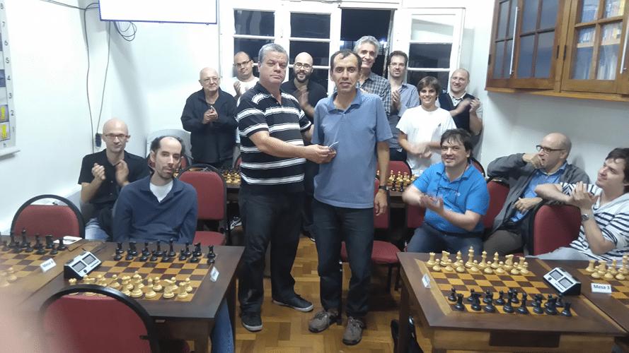 Cerimônia de Premiação 1 - José Luís Chauca Campeão Geral
