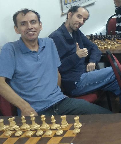 José Luís Chauca e Marlen Moura