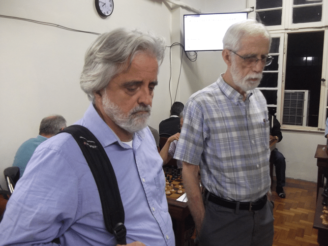 Mais Fotos - Como não poderia deixar de ser, Luiz Alberto da Luz e Sérgio Sundaus visitaram o torneio