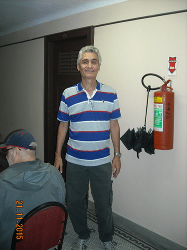 Organização e Arbitragem - Alberto Mascarenhas foi o Diretor do Torneio