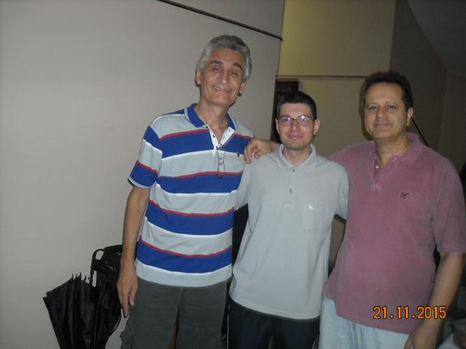 Organização e Arbitragem - Mascarenhas, Rafael e Madeu