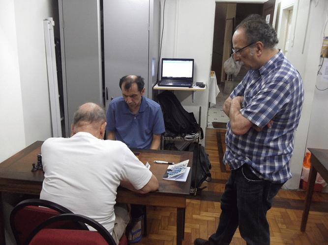 Partidas - Juarez Lima observando Carlos Rolim vs José Chauca