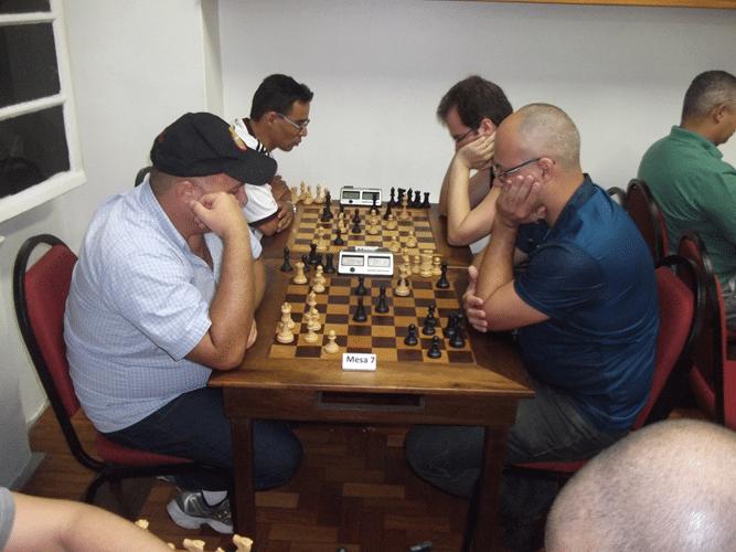 Partidas - Tarcísio Leite vs Diógenes Sousa e Fábio Soares vs Antonio Piñón