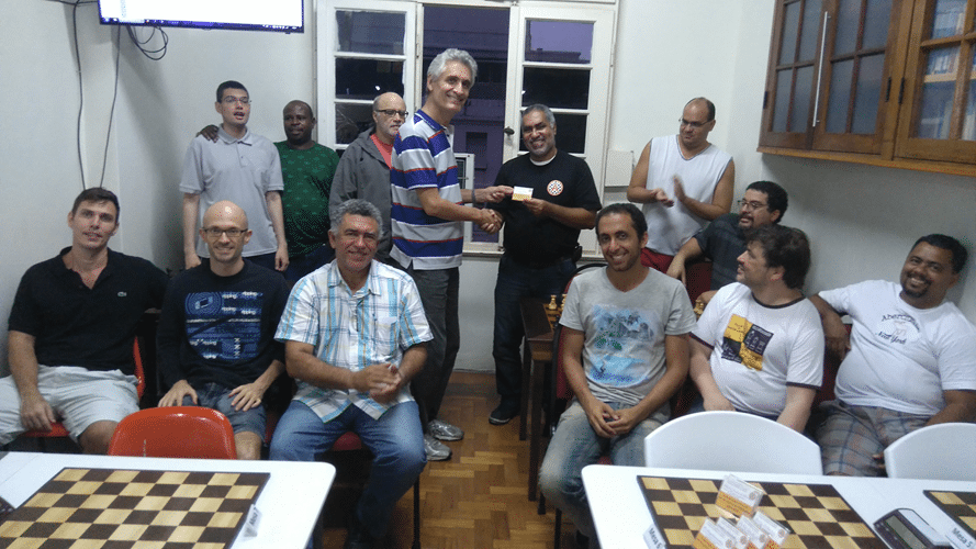 Premiação 8 - Nei Jorge Rodrigues Vice Campeão Geral