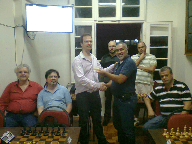 Premiação - Antonio Marcos Piñón