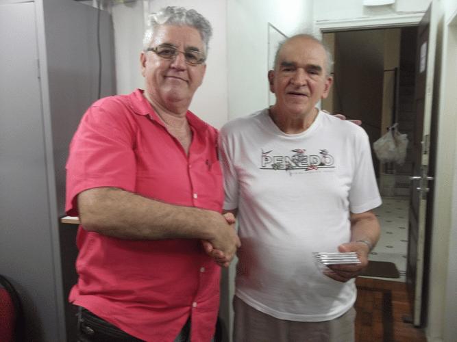 Premiação - Carlos Alves Rolim