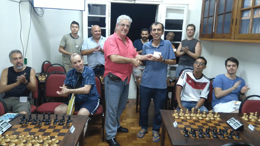 Premiação - José Luís Chauca Campeão Geral