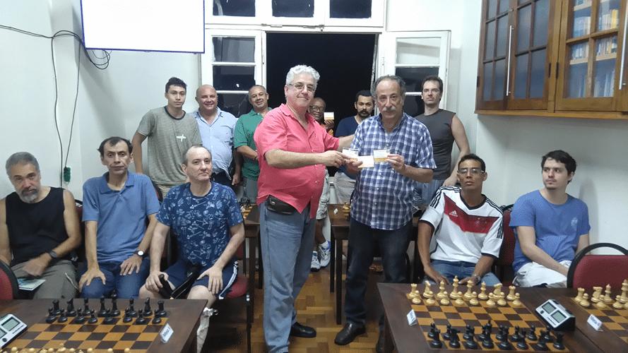 Premiação - Juarez Lima Campeão Veterano