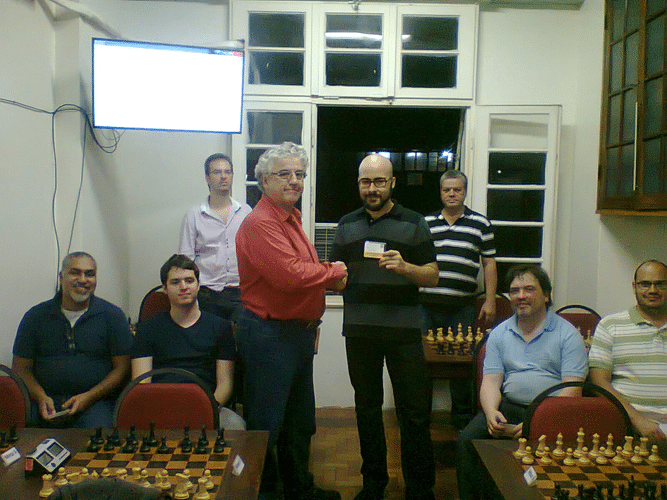 Premiação - Renato Werner Campeão