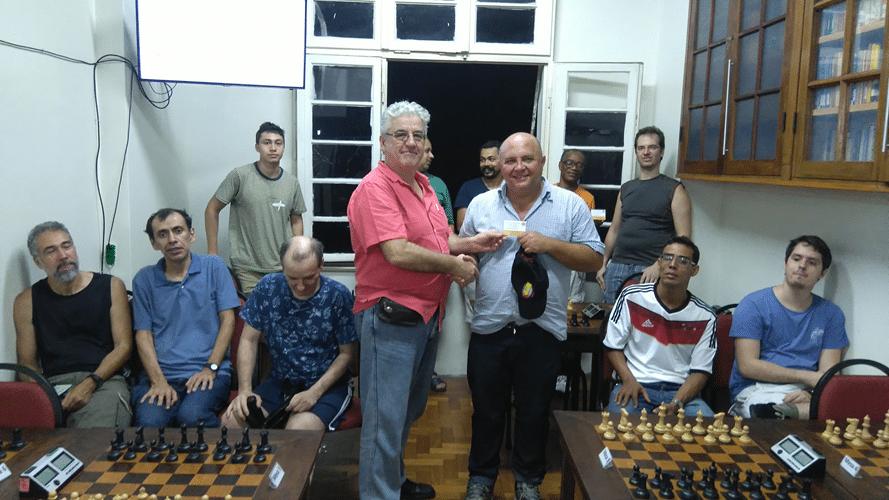 Premiação - Tarcísio Leite