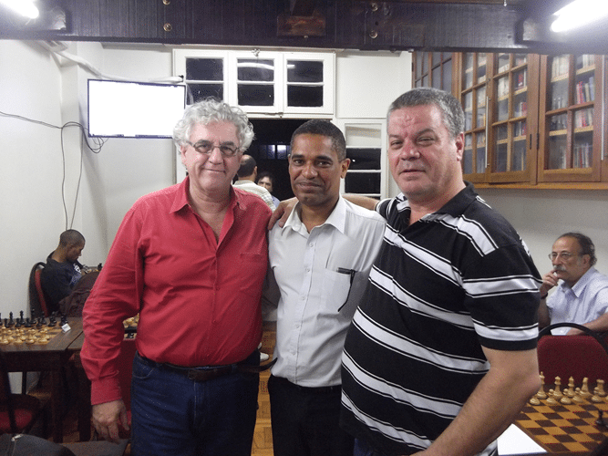 Visita - Alvaro Frota Alexandre Ferreira Campos e Sérgio Murilo