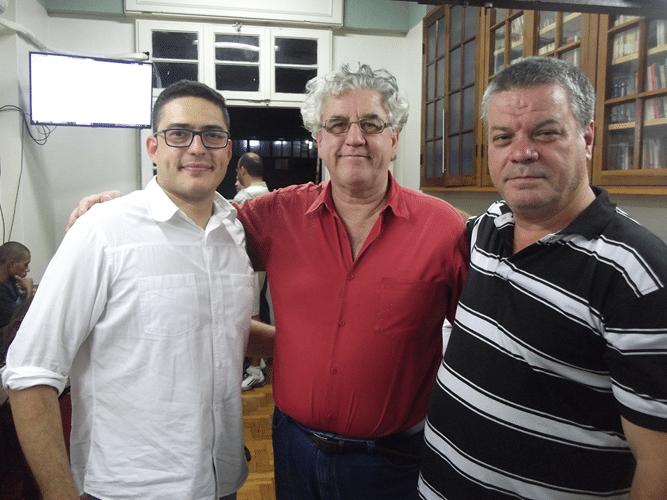 Visita - Michel Romero Álvaro Frota e Sérgio Murilo