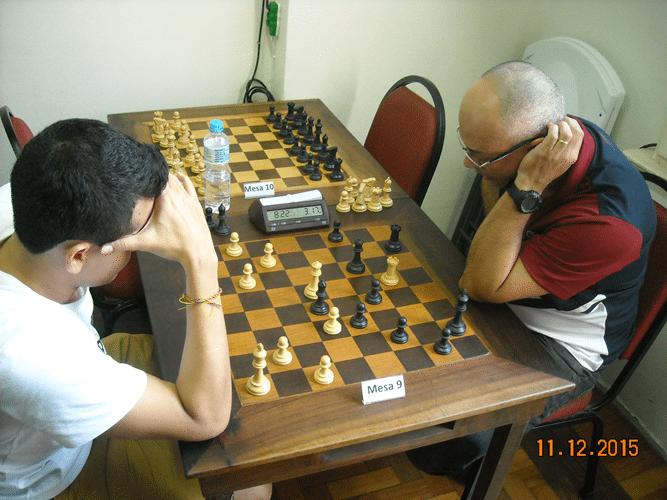 1º Rodada - Mesa 9 - Oscar Solano Rueda perdeu de Diógines Souza