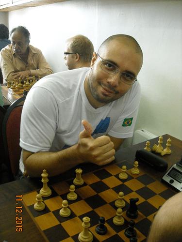 Classificação - 16º - Rafael Graciano, da AFLUX, fez 2,0 pontos e ficou em 16º lugar