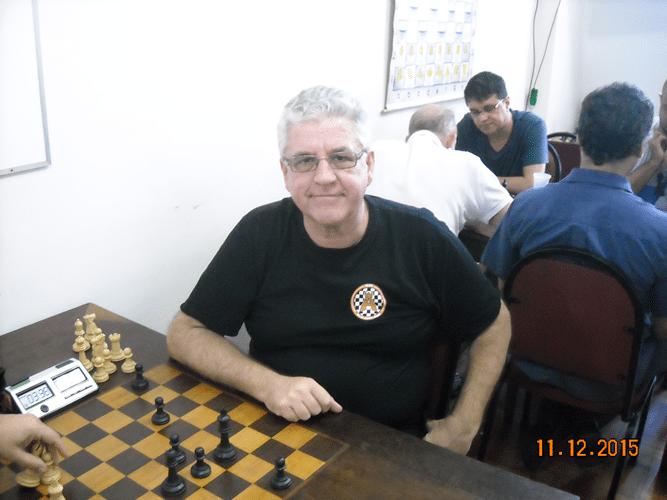 Classificação - 3º Álvaro Frota, 4,5 pontos