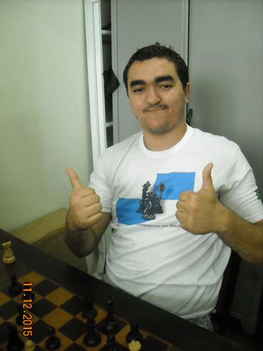 Classificação - 6º - Iago Henrique de Souza da AFLUX fez 4,0 pontos e ficou em 6º lugar