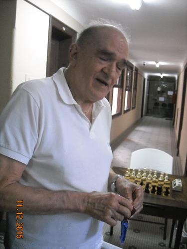 Plantel - Carlos Alves Rolim não gosta de tirar fotos