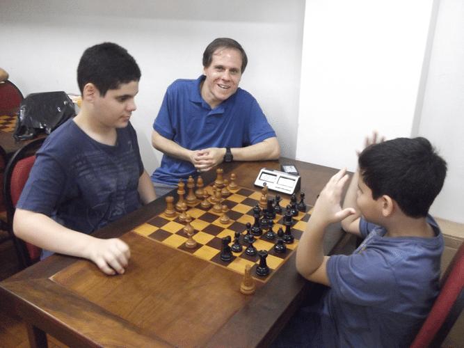1 - Carlos Rosa e seus filhos