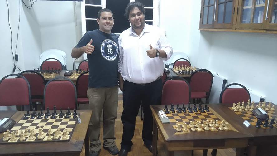 14 - Daniel Faria e George Gustavo Sinclair