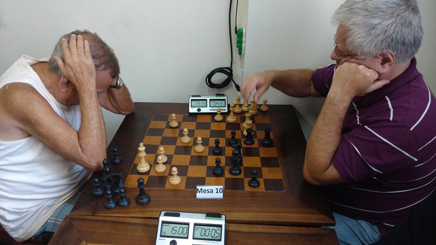 Partidas 3 - Edvaldo ganhou de Fernando Kovacs