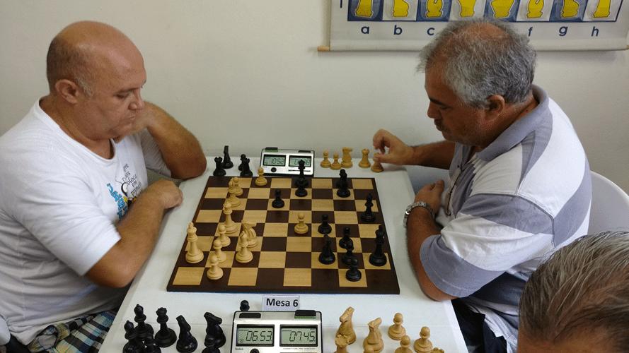 Partidas 6 - Tarcísio Leite venceu Paulo Paiva