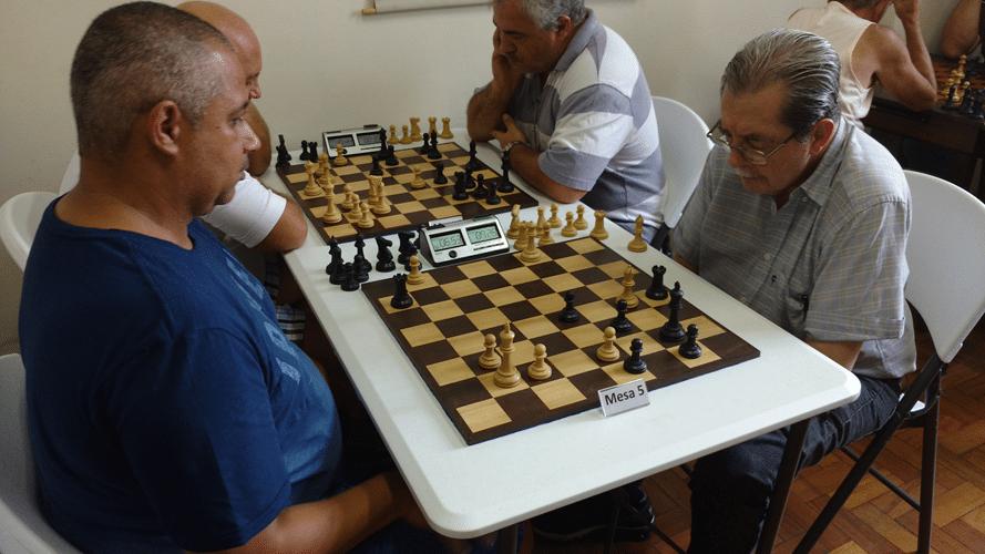 Partidas 8 - Claide Barros Teixeira ganhou de Guilherme Von Calmbach
