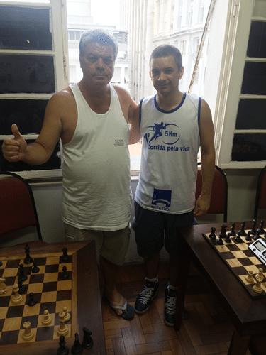 5 - Sérgio Murilo e Marco Aurélio Maia foram o Campeão e o Vice Campeão do Rápido FIDE de Fevereiro.