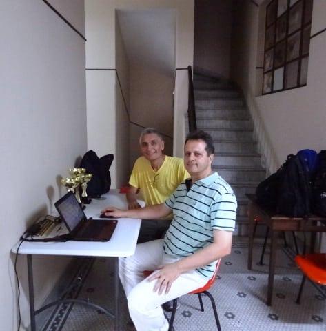 AR Fernando Madeu e MF Alberto Mascarenhas