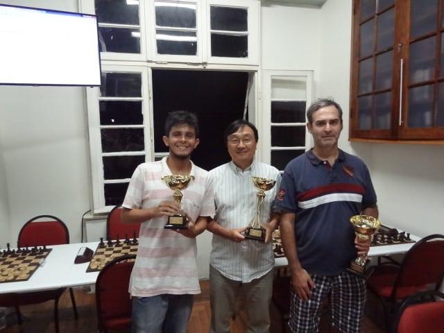 Os grandes vencedores, Okamura, Fucs e Leoni!!