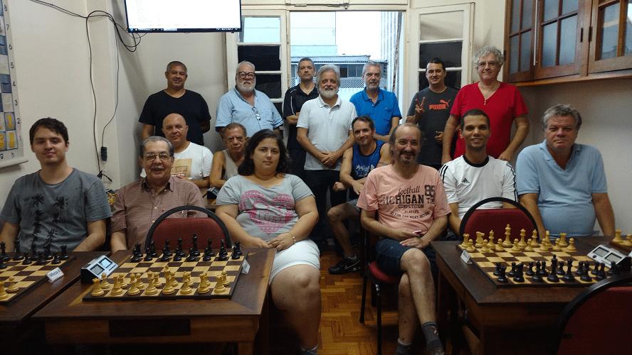 Rápido FIDE de Outono - A foto histórica 1