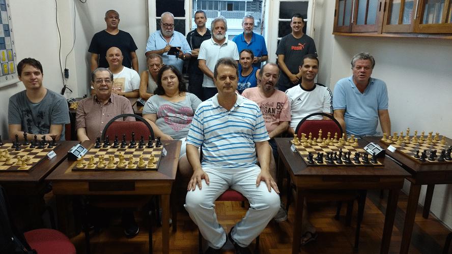 Rápido FIDE de Outono - A foto histórica 3