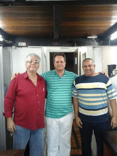 Álvaro Frota, Fernando Madeu e Claide Teixeira de Barros
