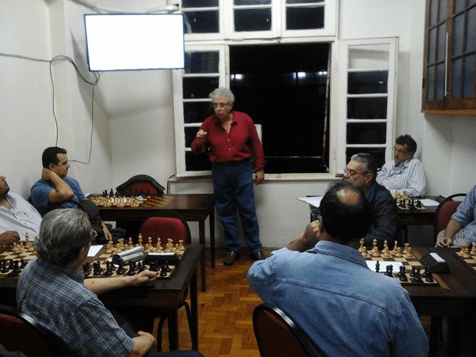 O Congresso Técnico do torneio se inicia com a palavra do Presidente do Clube