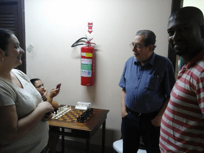 Cristiane Noronha, Guilherme Von Calmbach e Rômulo Miranda de Souza