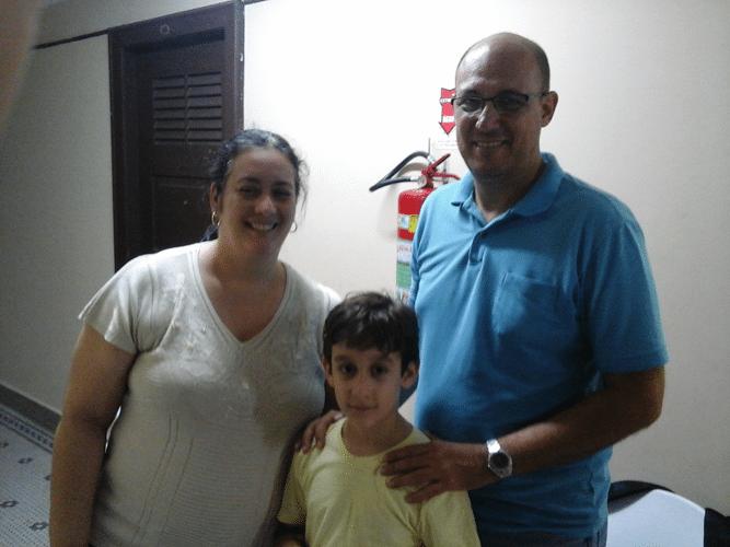 Cristiane Noronha, Victor Noronha Mesquita e Arnaldo Leite Mesquita