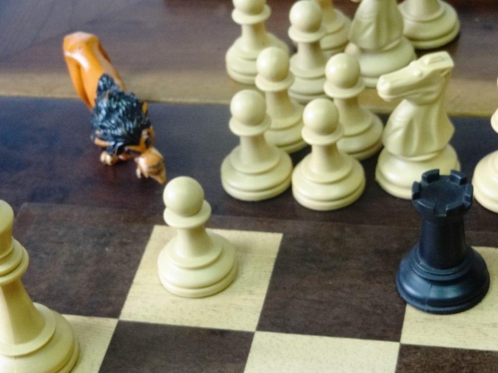 O malvado Scarr queria atrapalhar... Mas as duplinhas resolveram a posição!!