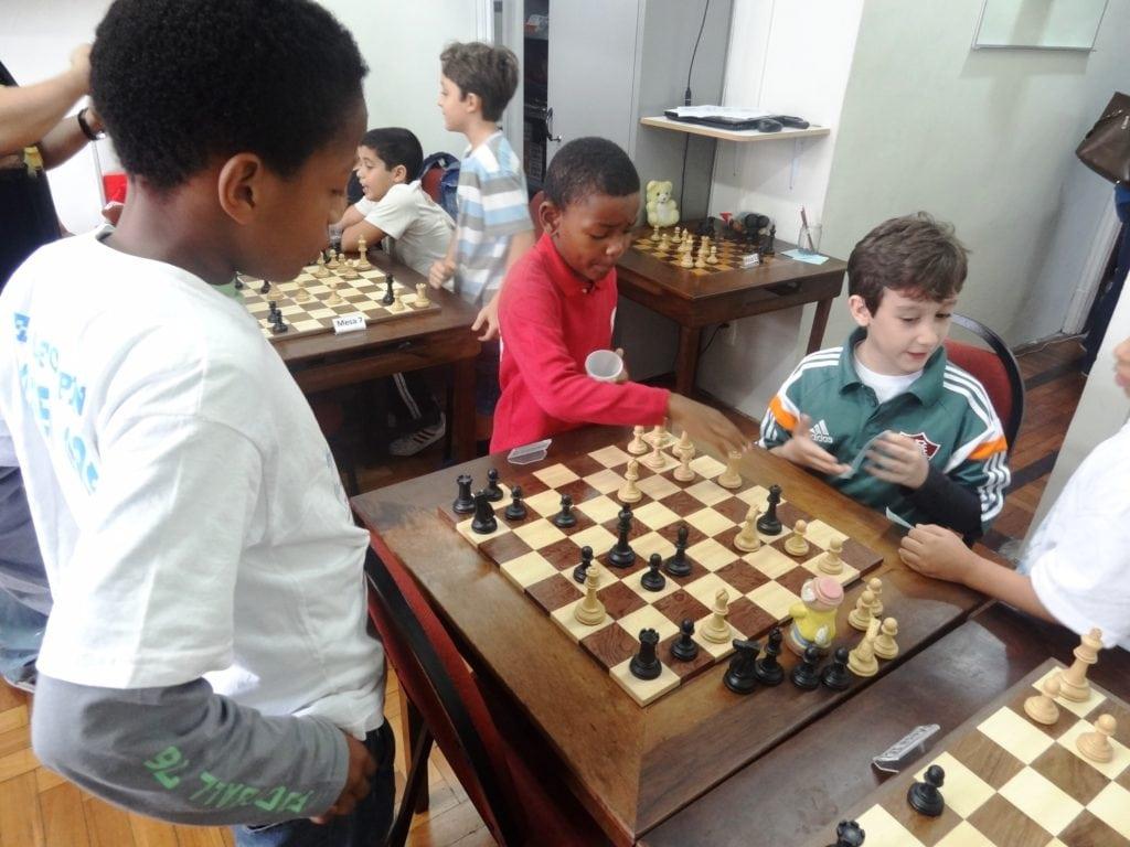 Luis Guilherme Costa de Souza (1o. plano) estudando a posição com Wile e Victor!