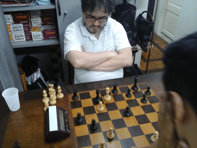 Marcelo Einhorn jogando