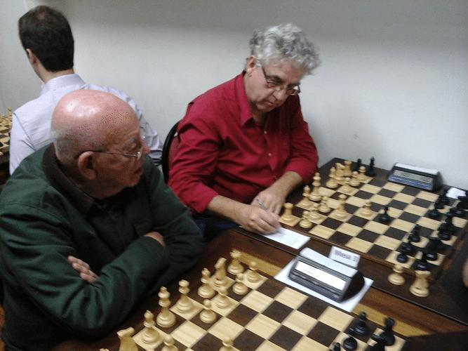 Na luta Irahy Ribeiro de Carvalho e Álvaro Frota