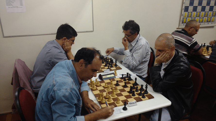 Partidas David Rabello vs Pedro Faraco e Felipe vs Aristides