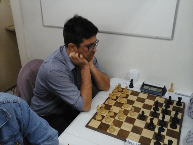 Felipe Jalom estreou nos torneios da ALEX