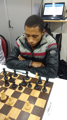Thiago Siqueira de Azevedo voltou a jogar nossos torneios
