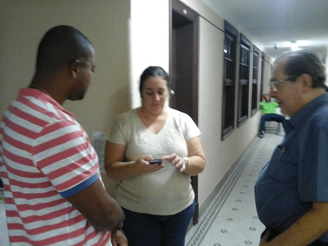 Rômulo Miranda de Souza, Cristiane Noronha e Guilherme Von Calmbach