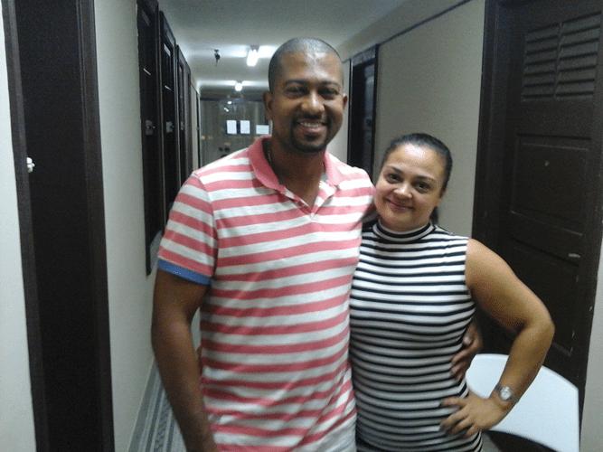 Rômulo Miranda e Vivian Tavares de Souza