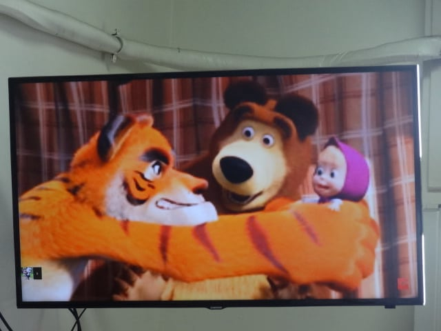 Masha e seu amigos Urso e Tigrão!