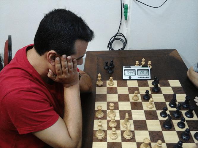 Estevão Luiz Soares na luta