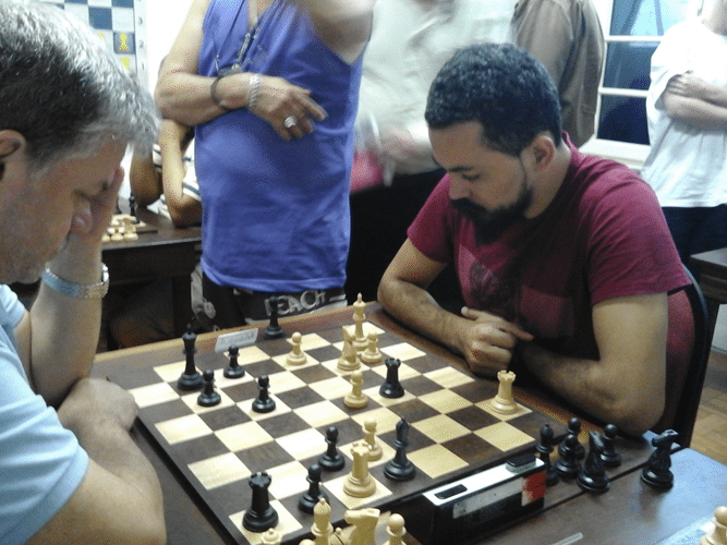 Flávio Silva Almeida na luta
