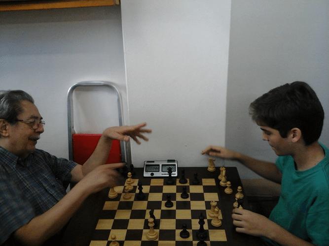 Guilherme Von Calmbach e Gianluca Jório Almeida analisam a partida após seu término