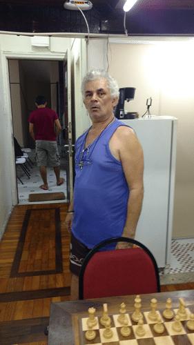 """Gilberto Camelo Henrique ficou em 12º lugar e foi o Campeão Classe """"C"""" do Rápido FIDE de Junho"""
